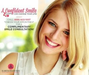 A confident smile can change your life. Call 858. 622. 1007 for a Complementary Smile Consultation
